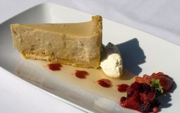 Panna cotta Cheesecake Royalty Free Stock Images