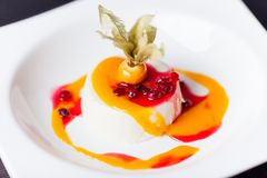 Panna cotta Stock Photos