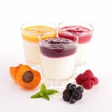Panna cotta Stock Images