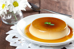 Panna cotta dessert Stock Images