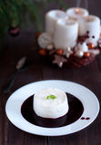 Panna cotta Stock Photography