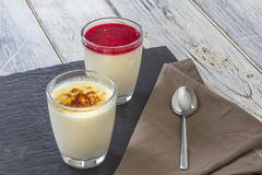 Panna cotta Royalty Free Stock Photos