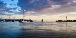 Panna för Wollong hamnlöneförhöjning Royaltyfri Fotografi