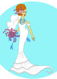 panna młoda ślub Obrazy Royalty Free