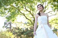 panna młoda azjatykci piękny ślub zdjęcia royalty free