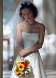 panna młoda biel smokingowy ślubny Fotografia Stock