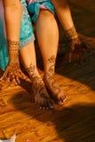 - panna młoda do henny hindusa ślub Obrazy Royalty Free