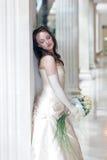 panna młoda dzień ślubu Obraz Stock