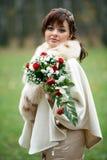 panna młoda dzień jej ślub Obraz Royalty Free