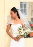 Panna młoda na ślubie Fotografia Royalty Free