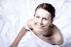panna młoda piękny portret Zdjęcia Royalty Free