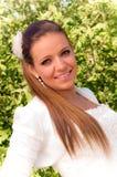 Panna młoda portret Fotografia Stock