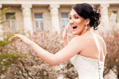 panna młoda szczęśliwa Fotografia Stock