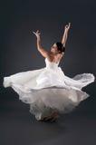 Panna młoda taniec obraz royalty free