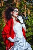 Panna młoda w ślubnej sukni Fotografia Stock