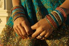panna młoda hindusi Obrazy Royalty Free