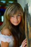 panna młoda portret Obrazy Royalty Free