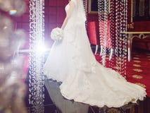 Panna młoda w luksus sukni Zdjęcia Stock