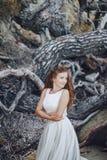 Panna młoda w naturze Zdjęcia Stock
