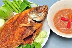 Panna stekt fisk Royaltyfria Bilder