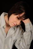 pannahandkvinna Fotografering för Bildbyråer