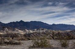Pannaliten vik Death Valley Royaltyfri Fotografi