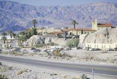 Pannaliten vikgästgivargård, Death Valley, Kalifornien Royaltyfria Foton