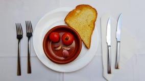 Pannan lurar tomate Royaltyfria Foton