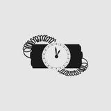 Panne avec le rupteur d'allumage d'horloge Images stock