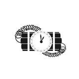 Panne avec le rupteur d'allumage d'horloge Photo stock