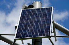 Panneau à énergie solaire Photos stock