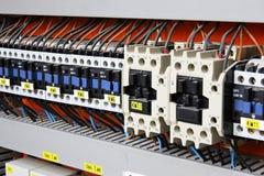 Panneau électrique Photos stock