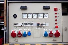 Panneau électrique Image libre de droits