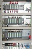 Panneau électrique images stock