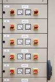 Panneau électrique de compartiment Photographie stock libre de droits