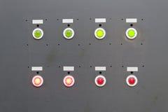 Panneau électrique gris Photo libre de droits