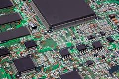 Panneau électronique Images stock