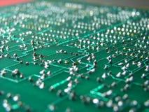 Panneau électronique Photo stock