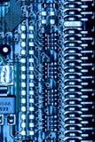 panneau électronique Photos stock
