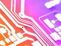 Panneau électronique de circuit photos libres de droits