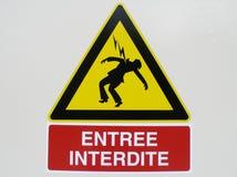 Panneau Image stock