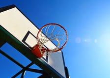 Panneau arrière de basket-ball Photos stock