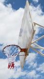 Panneau arrière de basket-ball Images stock