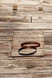 Panneau arrière de basket-ball primitif Image libre de droits