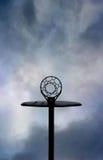 Panneau arrière extérieur de réseau de réseau de basket-ball Images libres de droits