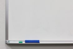 Panneau blanc Image stock