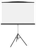 Panneau blanc pour des présentations Images libres de droits