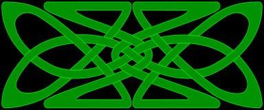 panneau celtique de noeud Images stock
