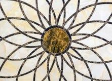 Panneau décoratif de marbre naturel avec des modèles photos libres de droits
