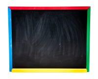 Panneau d'école noir Photos stock